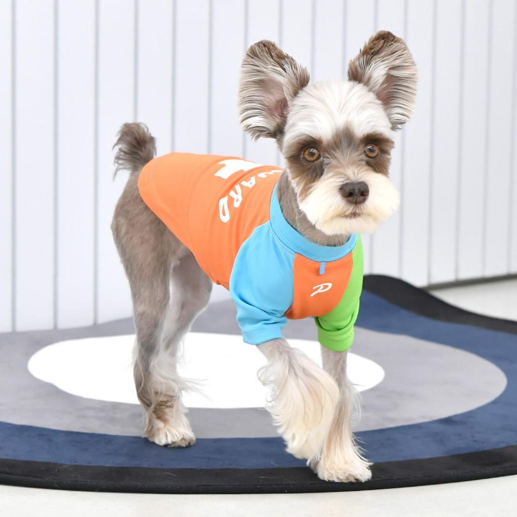 Паппиа Футболка Rescuer оранжевая для собак, в ассортименте, Puppia