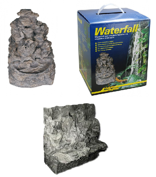 Лаки Рептайл Водопад Waterfall для рептилий, в ассортименте, Lucky Reptile