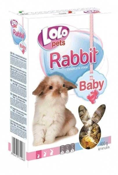 ЛолоПетс Корм полнорационный для молодых кроликов, в ассортименте, LoloPets