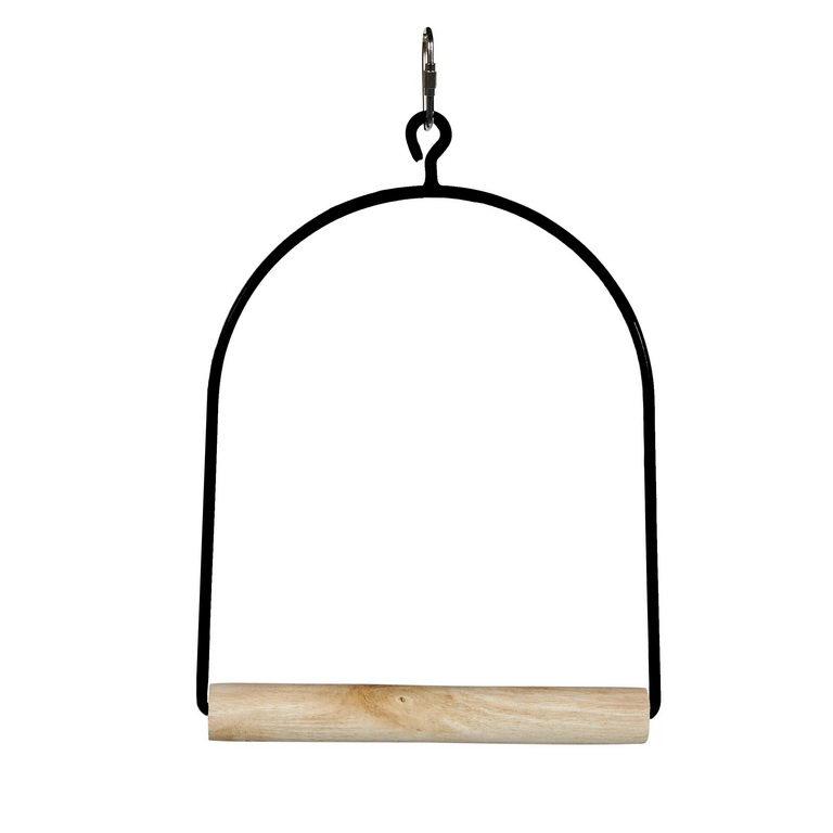Скай Качели для средних и мелких птиц Cage Swing, 15*25 см, в ассортименте, Sky