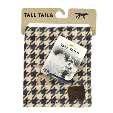 Роузвуд Одеяло для животных Tall Tails флис, бежево-серое, гусиные лапки, в ассортименте, Rosewood