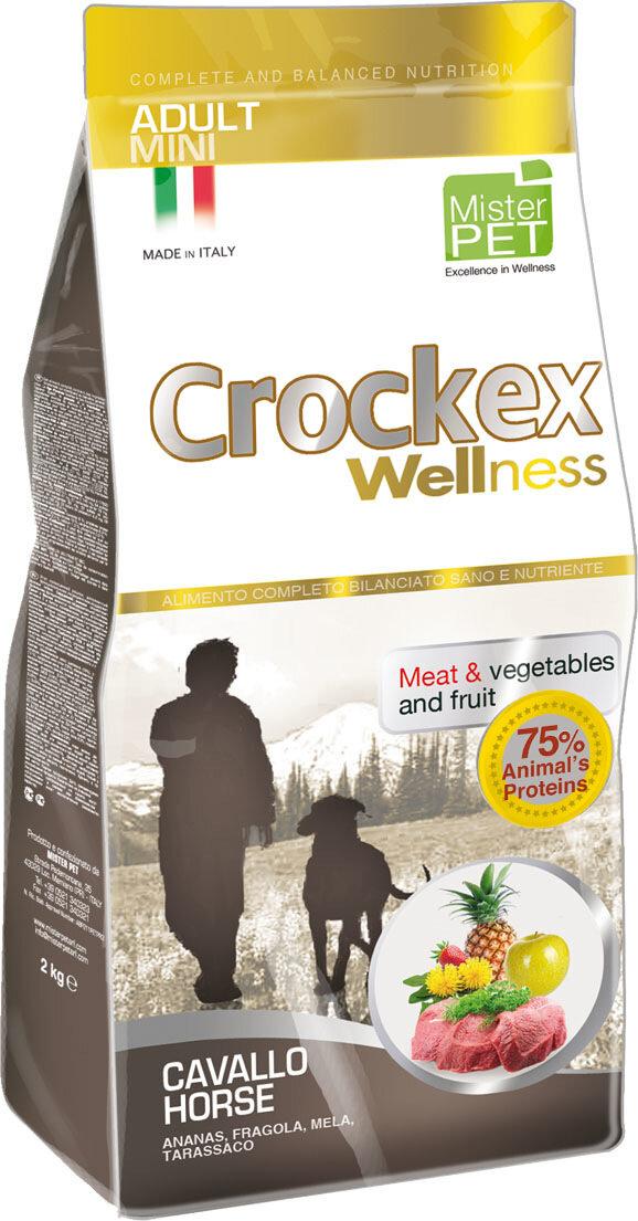 Крокекс Корм Cavallo Horse для собак мелких пород, Конина/Рис, в ассортименте, Crockex Wellness
