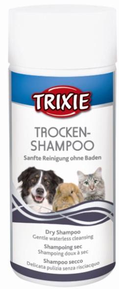 Трикси Сухой шампунь для собак, кошек и мелких животных, 100 г, Trixie