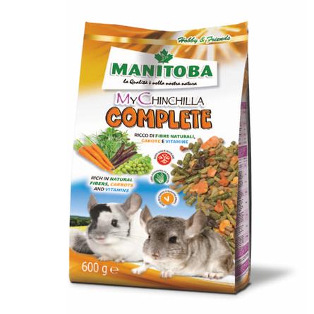 Манитоба Корм для шиншилл My Chinchilla Complete 600 г, Manitoba