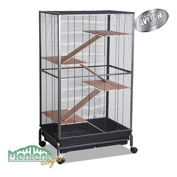 Монтана Клетка Kansas III для грызунов, хорьков и птиц, 84*48*142 см, Montana