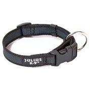 Джулиус К9 Ошейник для собак Color end Gray, черно-серый, в ассортименте, JULIUS-K9
