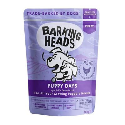 Баркинг Хедс Паучи для щенков всех пород Щенячьи деньки (Puppy Days), Курица, 300 г, Barking Heads