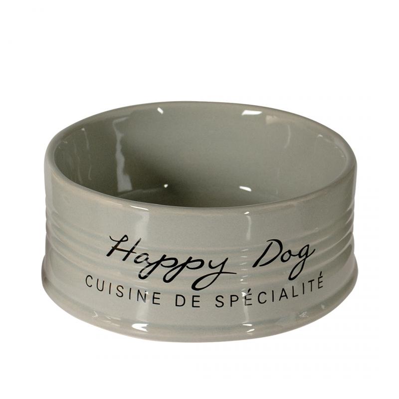 Дуво+ Миска керамическая для собак Happy Dog, в ассортименте, DUVO+