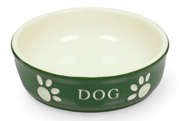Нобби Миска керамическая с рисунком DOG, 250 мл, в ассортименте, Nobby
