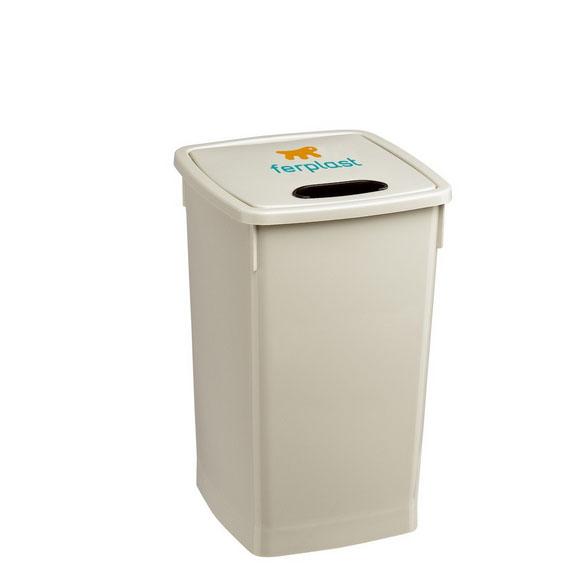 Ферпласт Совок для уборки и насыпания корма PA1948, металл, 34,5*11,5*4 см, Ferplast