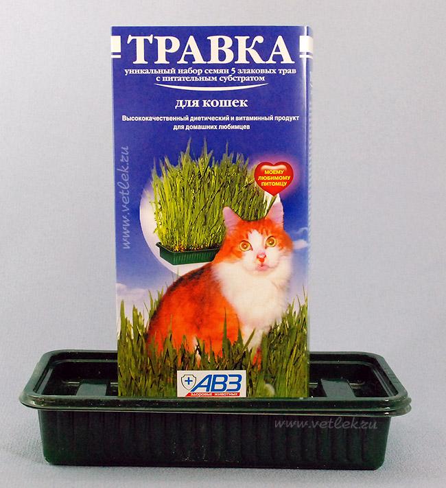 Травка в ассортименте для кошек, грызунов и птиц, лоток, в ассортименте, Агроветзащита