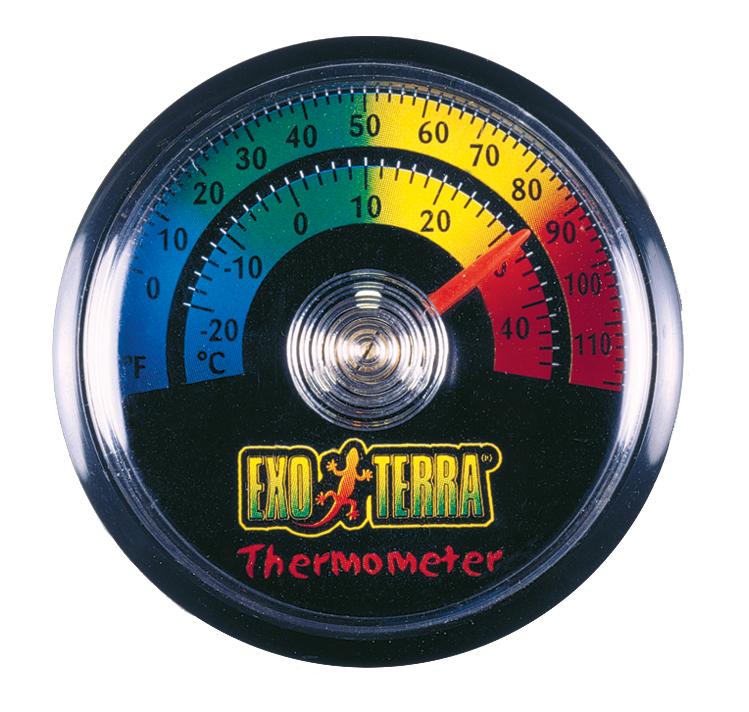 Хаген Термометр для террариума Rept-O-Metr, диаметр 5,5 cм, Hagen