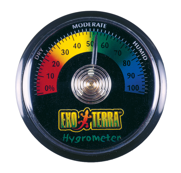 Хаген Гигрометр для террариума Rept-O-Metr, диаметр 5,5 cм, Hagen