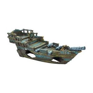 """Пенн Плекс Декорация для аквариума """"Затонувшие корабли"""", 2 вида, Penn-Plax"""