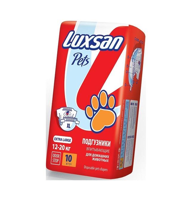Люксан Подгузники для домашних животных Pets, в ассортименте, Luxsan