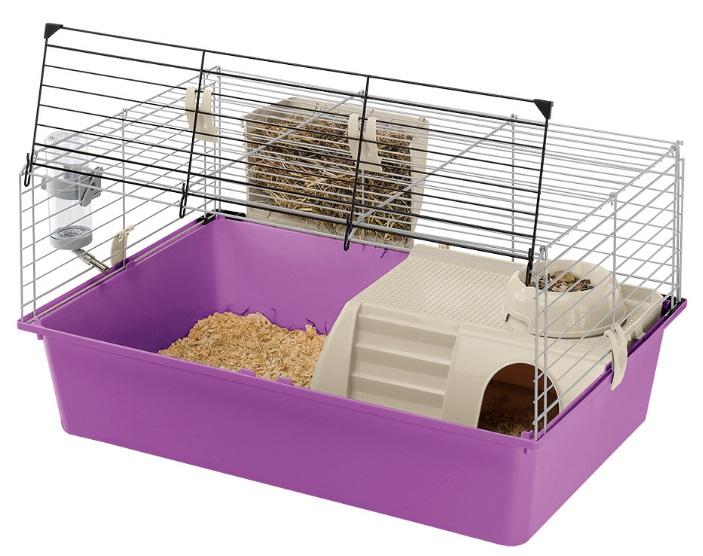 Ферпласт Клетка Cavie 15 для кроликов и морских свинок, 70*47*37,5 см, в ассортименте, Ferplast
