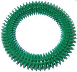 V.I.Pet Кольцо массажное с шипами, 2 размера, ПВХ, PetLine