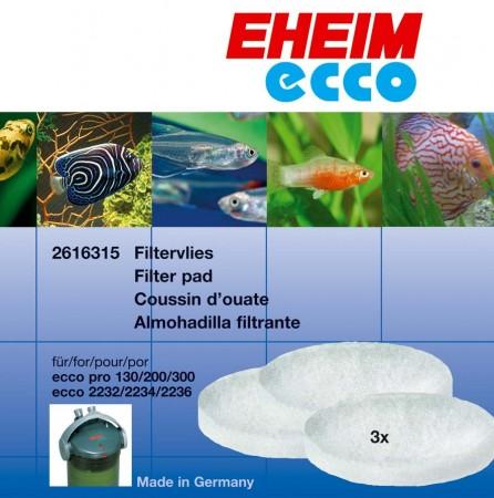 Эхейм Синтепоновые губки для внешних фильтров Ecco Pro (EccoPro), 3 шт./уп., Eheim