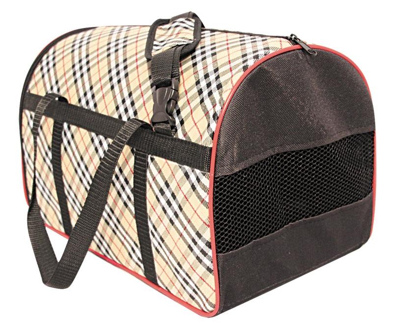Триол Сумка-переноска с сеткой для собак и кошек, цвета в ассортименте, 2 размера, Triol