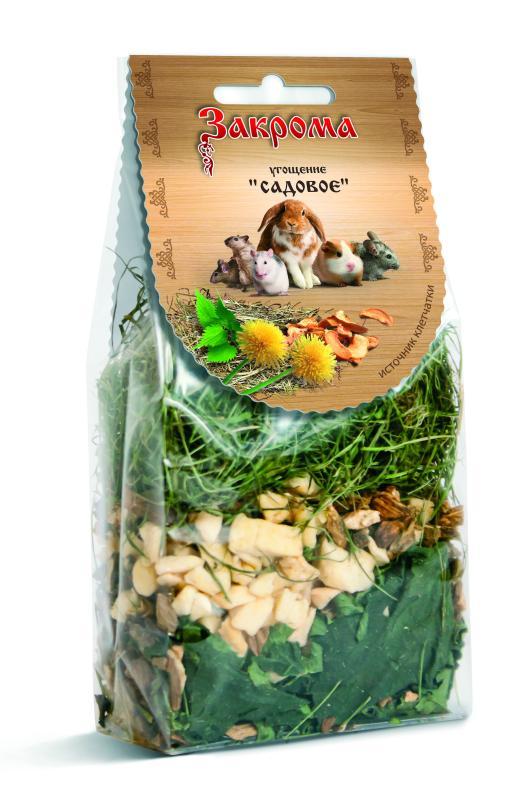 Закрома Лакомство-угощение Ореховое для грызунов и крупных попугаев, 100 гр