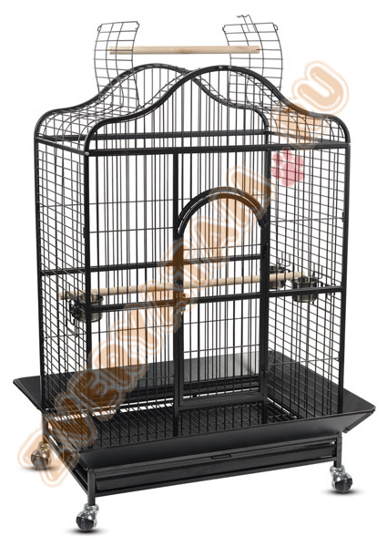Триол Клетка-вольер для крупных птиц 209-SY, 124,5*92*180 см, Triol