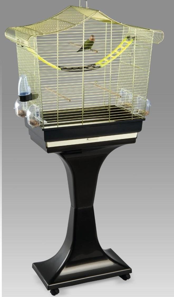 Имак Клетка Sofia для птиц, на подставке, 63*33*61/133 см, в ассортименте, Imac