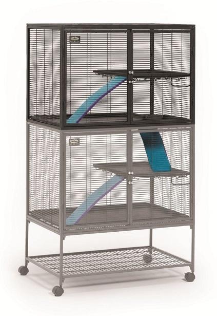Мидвест Клетка для крыс, шиншилл, хорьков, летяг, ежей, дегу, 92*61*160 см, двухэтажная, Midwest