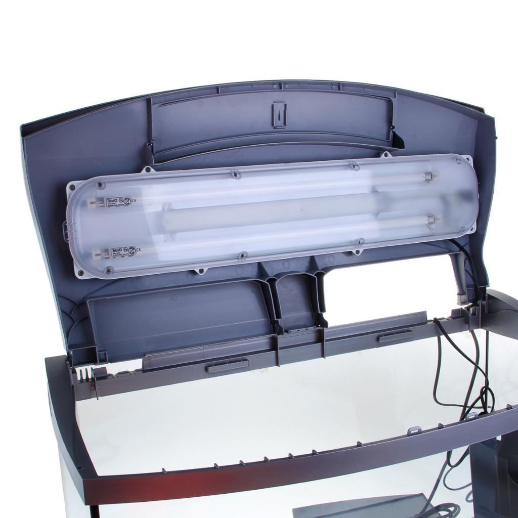 Tetra Аквариум AquaArt Evolution Line серебро, объем 100 л, 77*38*48 см, Тетра