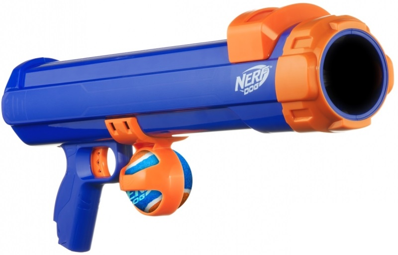Нёрф Бластер Dog Tennis Ball Blaster для игры с собакой, 50 см, Nerf