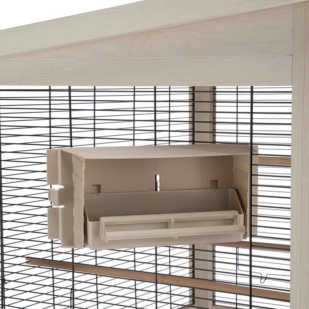 Ферпласт Вольер Wilma для птиц деревянный, 83*67*158,5 см, Ferplast