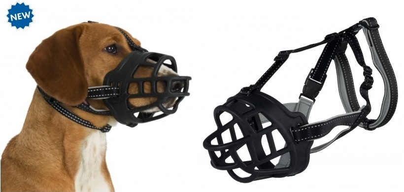 Трикси Намордник для собак Muzzle Flex, силикон, в ассортименте, Trixie