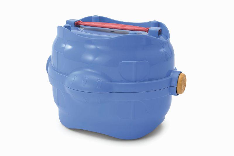 Имак Сумка-контейнер Easy Go с герметичной крышкой для еды и воды, 25*19,5*17 см, Imac