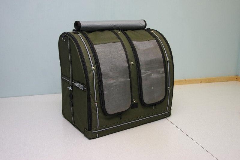 Переноска-рюкзак StePan для двух птиц, 50*31*47 см