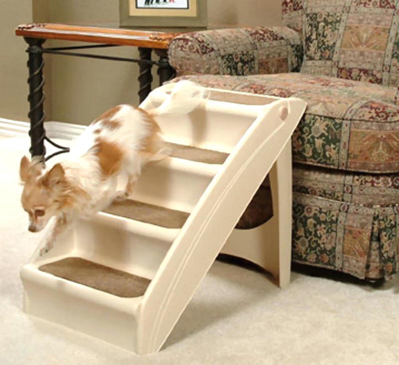 Солвит Приставная лесенка для собак и кошек PupSTEP Lite Plus, в ассортименте, Solvit
