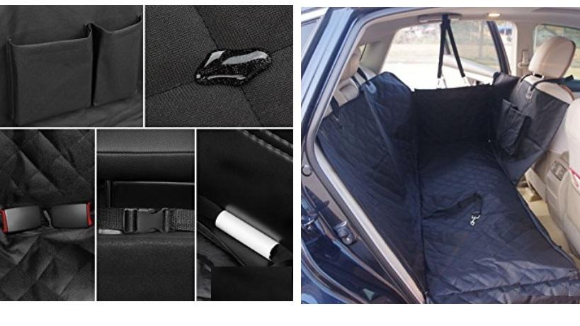 ДогЛэнд Подстилка-трансформер для заднего сиденья, 130*45*74 см, DogLand