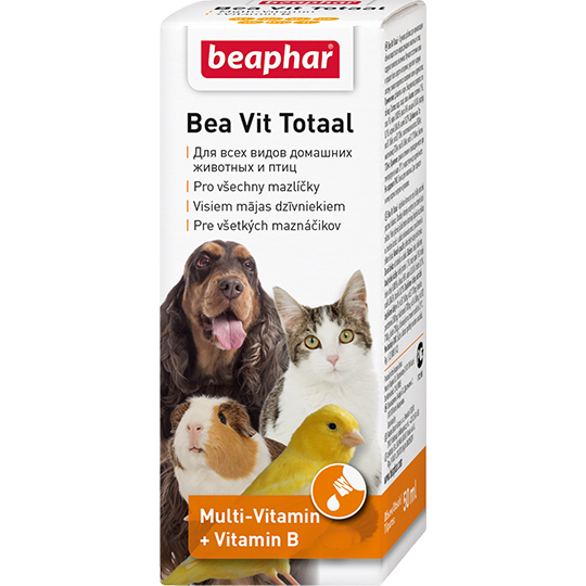 Беафар Кормовая добавка Bea Vit Totaal для всех домашних животных и птиц, 50 мл, Beaphar