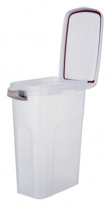 Трикси Контейнер для хранения сухого корма, в ассортименте, прозрачно-белый, Trixie