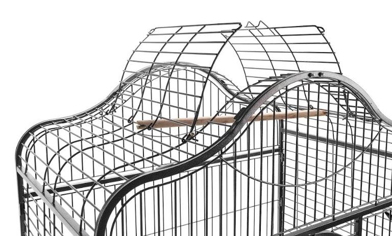 Кредо Вольер A09 для крупных птиц, открывающийся верх, 126*93*172 см, в ассортименте