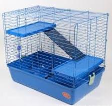 Клетка R2-2 для кроликов, шиншилл, хорьков, 69*45*61 см, в ассортименте