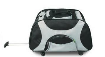 Триол Сумка-переноска DLC1004 со съемной платформой на колесах, с телескопической ручкой, 65*37*45 см, Triol