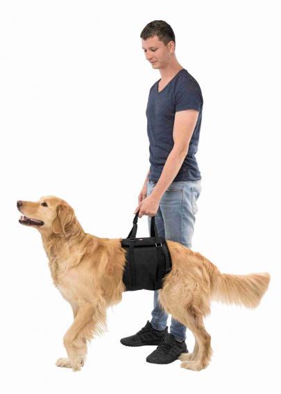 Трикси Транспортировочный бандаж для пожилых, травмированных собак, в ассортименте, нейлон, Trixie