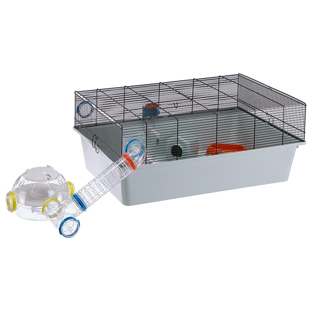 Ферпласт Комната обозрения для хомяков и мышей LAB, цвета в ассортименте, 22,5*20,7*14,3 см, Ferplast