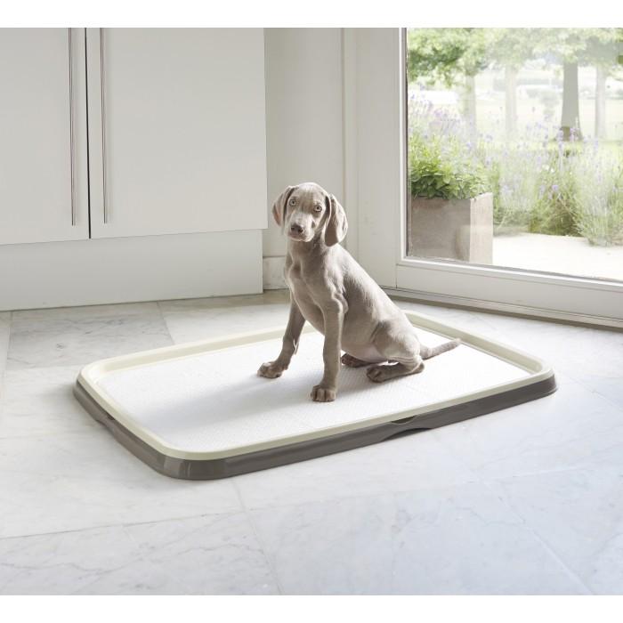 Савик Туалет для щенков и собак Puppy Trainer + 7 пеленок, с креплением под пеленки, в ассортименте, Savic