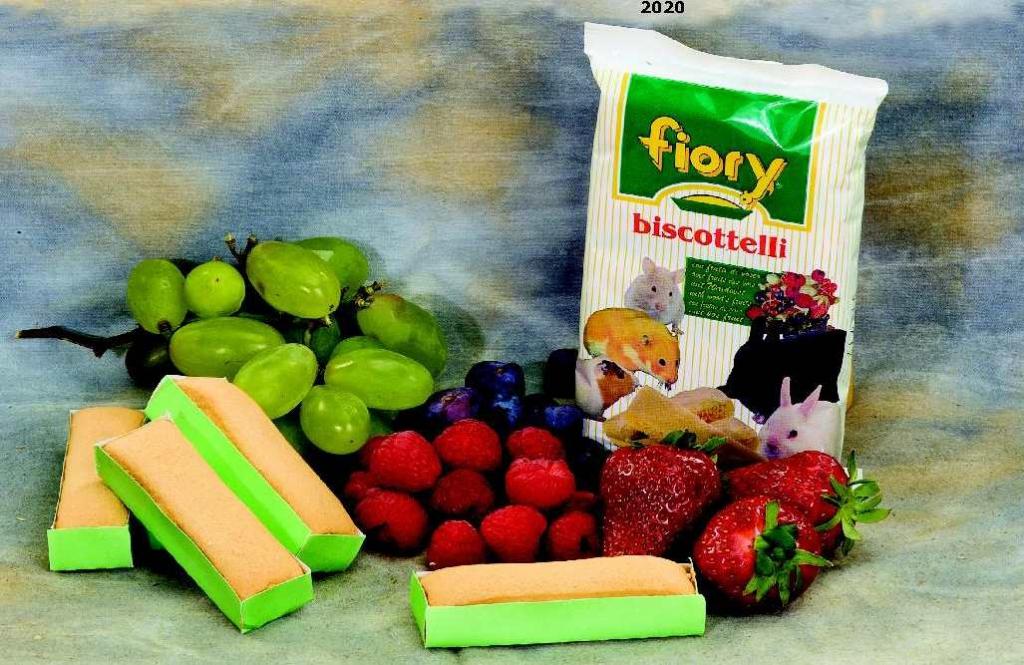 Фиори Бисквиты для всех грызунов, в ассортименте, 35 г, Fiory