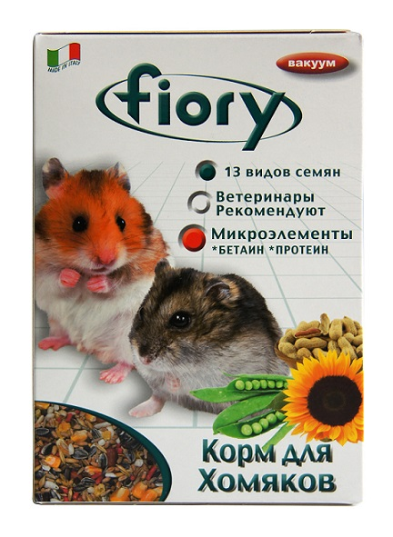 Фиори Корм Criceti для хомяков, в ассортименте, Fiory