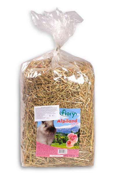 Фиори Сено Fieno Alpiland для всех грызунов, в ассортименте, FIORY