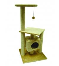 Триол Игровой комплекс 3069NT для кошек, 61*61*115 см, Triol