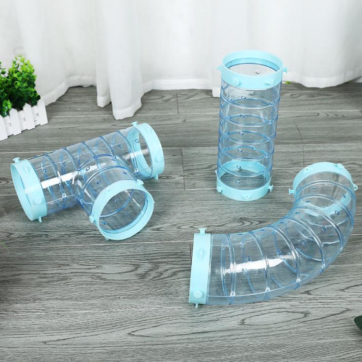 ЛеоСтар Прозрачная труба для крупных грызунов и хорьков, в ассортименте, LeoStar