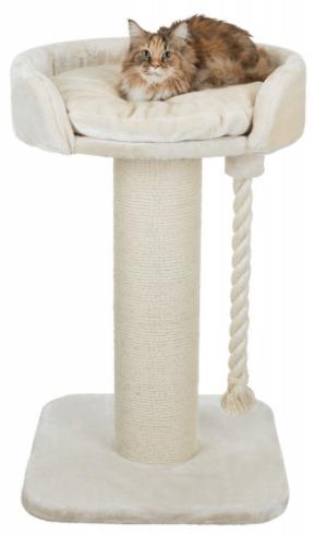 Трикси Когтеточка-лежак Klara XXL, с канатом, 60*60*100 см, Trixie