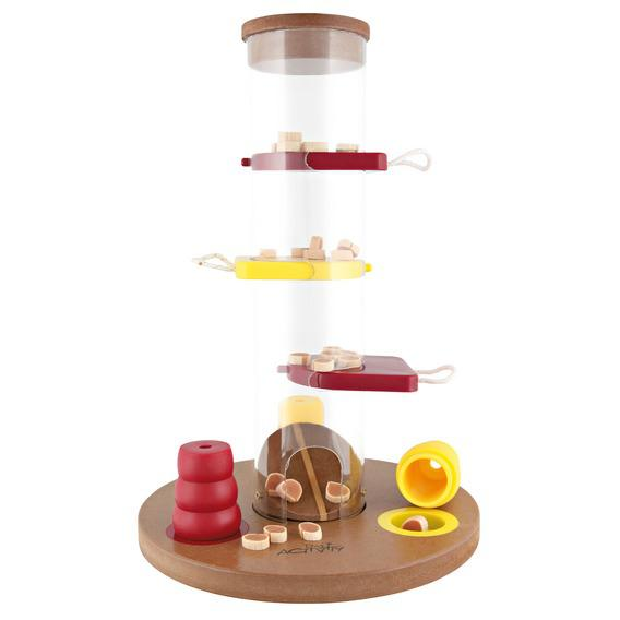 Трикси Развивающая игрушка для собак Gamble Tower, 25*33*25 см, в ассортименте, Trixie